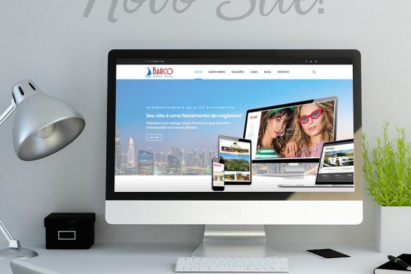 barco agência digital - novo site